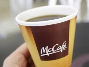 Medium coffee with cops