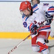 Jason Cooke had 3 goals over the weekend for the Jr. Redmen
