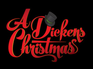 Medium logo dickensxmas onblack final