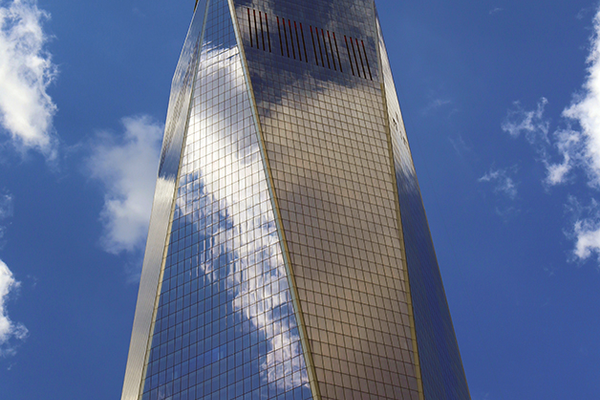 Freedom Tower in Lower Manhattan.