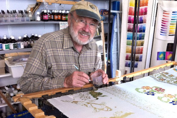 Batik artist Keith Smith will show at the OLAS Building in Auburn