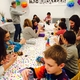 MAD Splatter is a children's party venue encouraging kids to donate to charities and be creative.