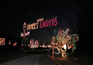 Hershey Sweet Lights - start Nov 14 2014 0500PM