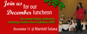 Southlake Womens Cub Fashion Show and Holiday Luncheon - start Dec 11 2014 1100AM