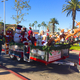 The Soroptomist International float carrying Santa and friends