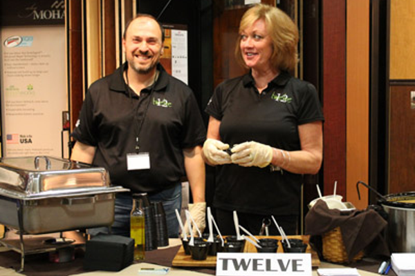Frank Caridi and Lynne Hall of Twelve Restaurant