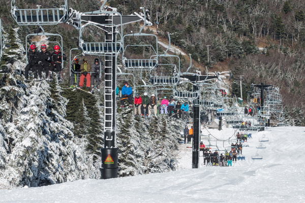 Suicide Six Ski Area. Photo courtesy of Ski Vermont.