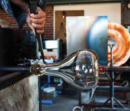 Watch a Video Showing the Glassblowing Process at AO Glass Works - 12032014 0152PM