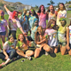 SOS Service Club during a Color War