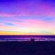 Sunset view from the Yoga Loft in Manhattan Beach