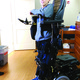 Dawud Hamdan was able to get a power wheelchair with a power standing function in November 2014