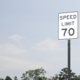 State law now allows for a 70 mph speed limit on all state highways and tollways, unless otherwise posted.