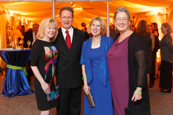 April Neighman, John Belcher, Cathy Belcher, and Karen Dement