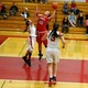 Shannon Smith (40) goes up for a shot.