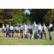 Photo by Steven Hoffman In early October, Tome School seniors Scott and Mark Blumberg, both Civil War re-enactors, taught eighth-graders about how troops would march.