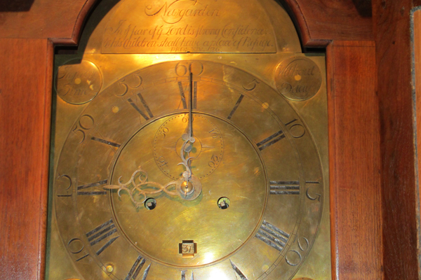 Jackson often created the cases and the works of his clocks.