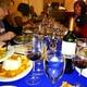 Cuisine Safari members digging into their meals at Aromas Del Sur in Ephrata.