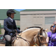 Courtesy photo Mary Husty sits very tall on Nina as she guides her through a class at a horse show.