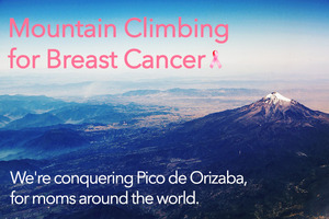 Mountain Climbing for Breast Cancer - Jan 13 2015 1259PM