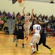 Alex DiRocco (3) goes up for two of his 17 points against Dracut.