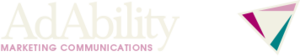 Medium adability marketing communications logo