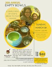 Medium empty bowls 2015 flyer
