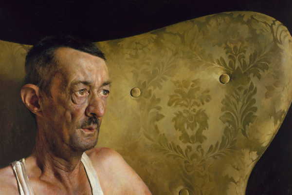 'Portrait of Shorty' (1963), oil on canvas, 18 by 22 inches. Collection of Andrew and Betsy Wyeth.