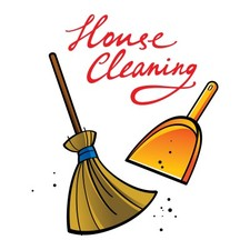 Medium house cleaning
