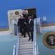 President Barack Obama accompanied by Sen. Bob Corker, Sen. Lamar Alexander and Rep. John Duncan. Photo: Crystal Huskey