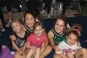 2015 WINTER MINI DRAGON CHEER CLINIC - start Feb 14 2015 0900AM