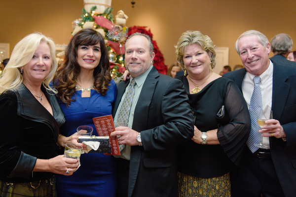 Donna Pierson, Sherry Smith, Didier Smith, Pam Haddaway, and Bill Cree