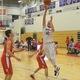 Justin Derrah (42) scored 13 points against Tyngsboro.