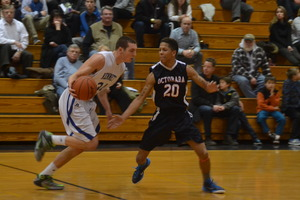 Photo by Richard L Gaw                            Kennetts Jackson Hyland scored 26 points in a 55-41 loss to Octorara on Feb 5