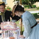Charlotte McIntyre and Kristina Powell organized a puppet theater show, giving young visitors a chance to re-tell the story of Cinderella using one of the most popular forms of entertainment during colonial times.