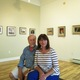 John Suplee and his wife, Carol, in the Church Street Gallery they opened in April.