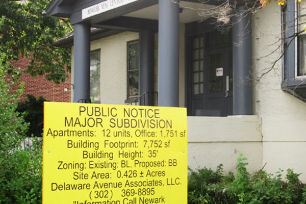 A developer plans to build apartments and offices on the site.