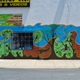 Courtesy photo Leathrum enjoys doing murals like this one in Newark.
