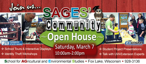 SAGES Charter School Community Open House - start Mar 07 2015 1000AM