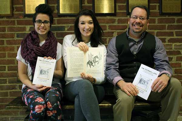 Hampton HS Art Students Illustrate Book