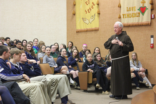 Vincentian Academy Welcomes Fr. Scott Seethaler
