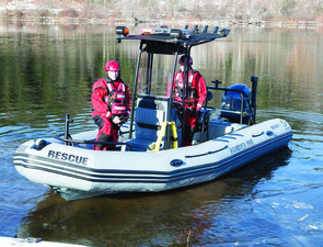 Check Out The Hanover Fire Departments New Zodiac RIB Video - Mar 04 2015 0213PM