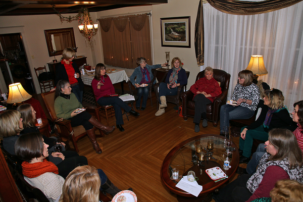 A typical monthly meeting draws around 15 members of the WAWHOs