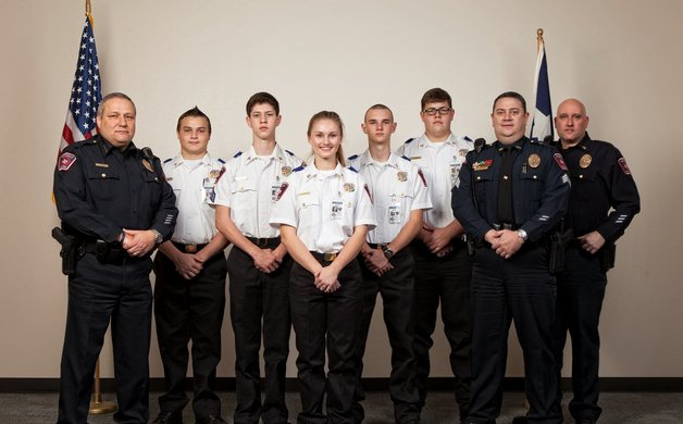 Explorers Program Gives Youth a Taste of Law Enforcement