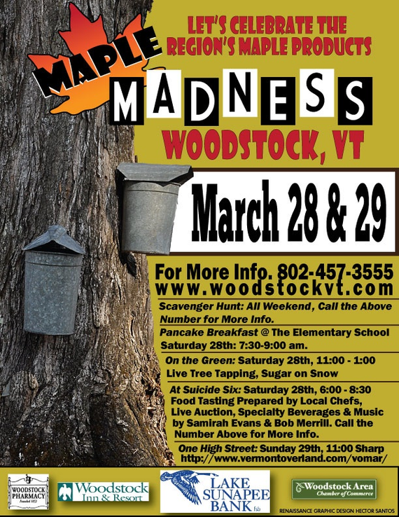 Maple madness poster 2015