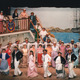 This 1995 production shows the elaborate sets that are a part of every Gilbert and Sullivan Society production.