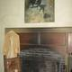 """The N.C. Wyeth painting """"Blind Pew"""" hangs over the fireplace, just as it did during many of the years Wyeth worked in the studio."""