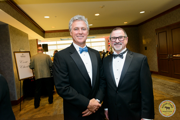 Brian Gibbons and Ben Marcantonio, Interim President and CEO, Hospice of the Chesapeake