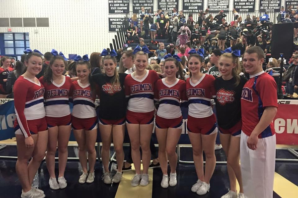 Tewksbury High placed 6th in the co-ed Division at the New England Championships.