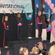 Top Level 7 gymnasts in the 11 and under category are recognized at the Pink Invitational.