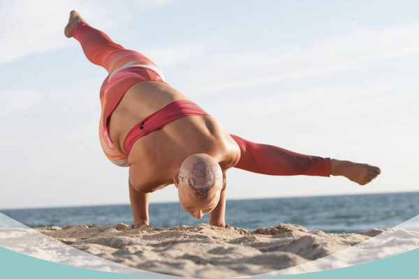 Haute Yogi director and cancer survivor Tiffany Friedman